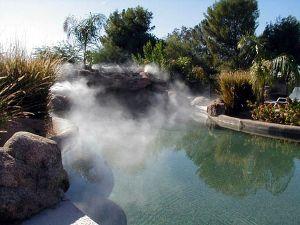 Micronebulizzazione nei giardini: landscaping e cooling