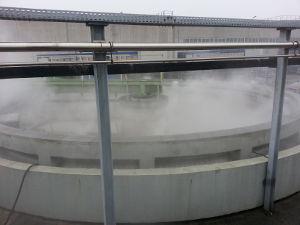 Geruchsneutralisation in Wasserreinigungsanlagen mit MGF Verneblersystemen