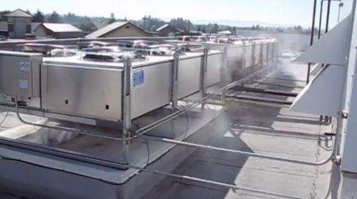 Adiabate Kühlung in der Kälte- und Klimatechnik