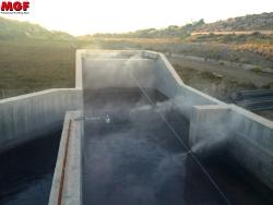 Geruchsbeseitigung mit Verneblersystem - Mazzara del Vallo - Trapani (Sizilen)