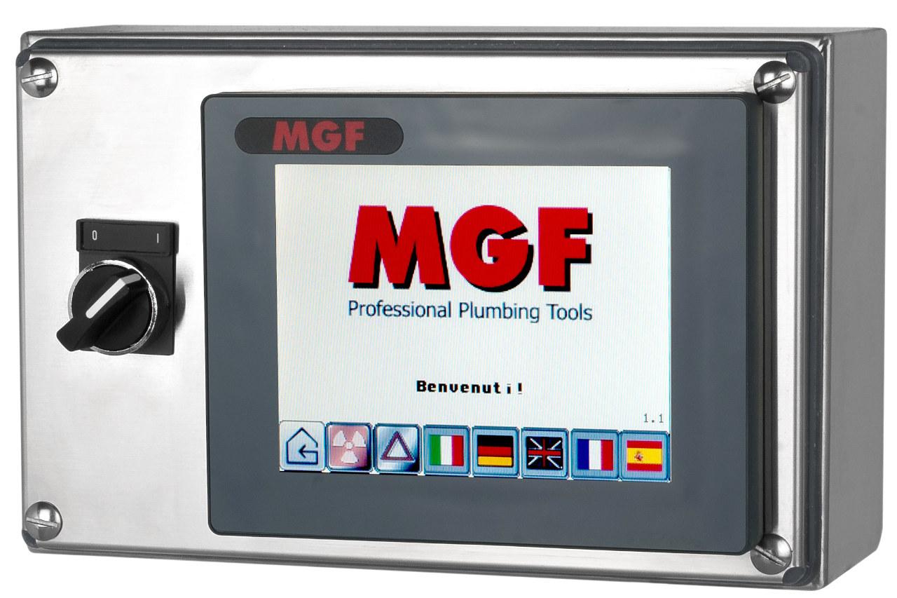 Sistema di controllo per nebulizzazione digimist MGF