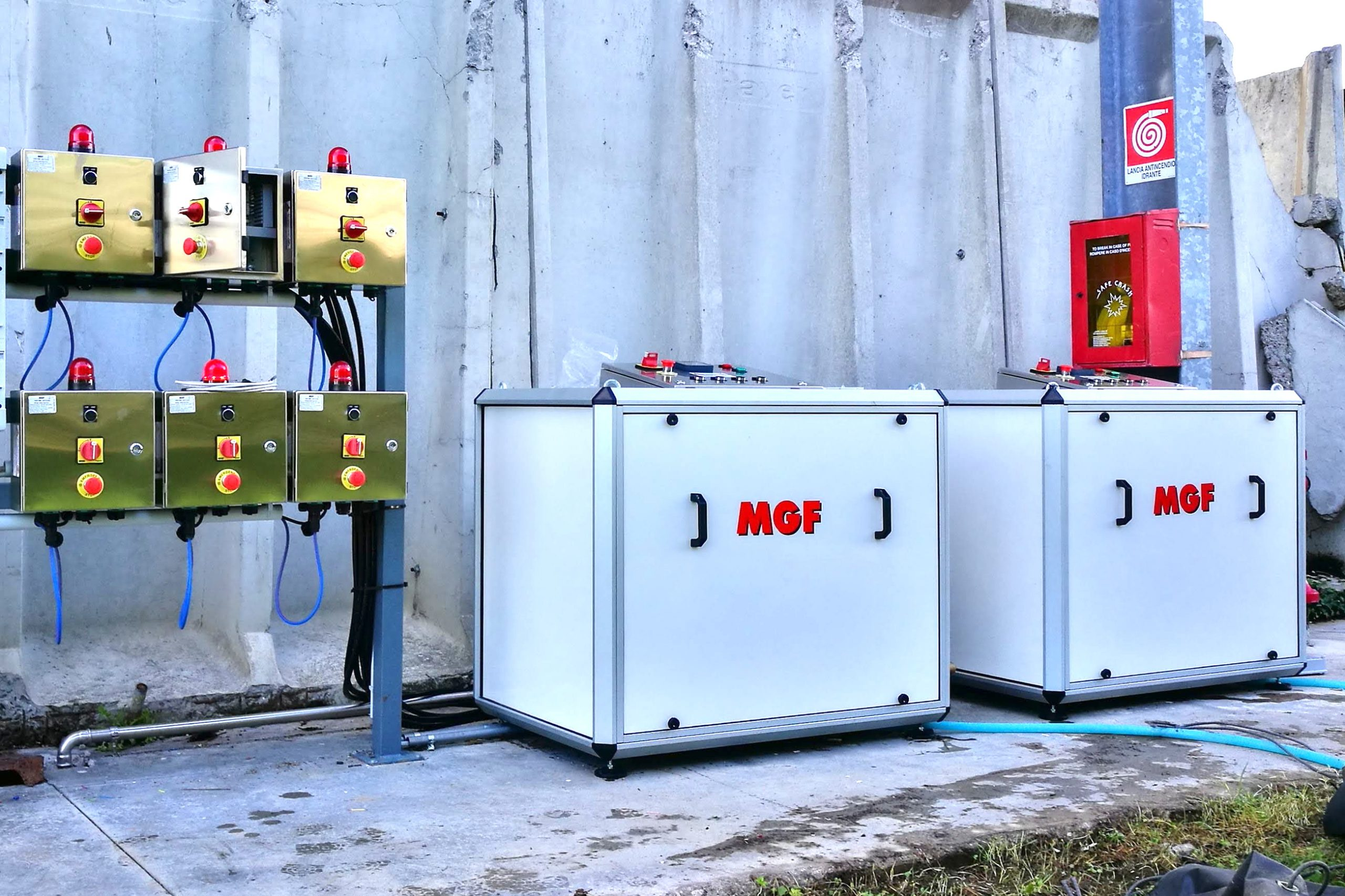 Sistema di nebulizzazione automatizzato per depolverazione