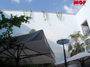 Fog cooling in restaurants, gardens, patios: discover MGF technology