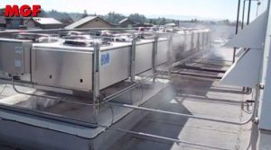 MGF adiabatic coolers for air conditioners, chillers and refrigerators