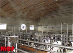 Brumisation des fermes:humidification, disinfection, élimination odeurs