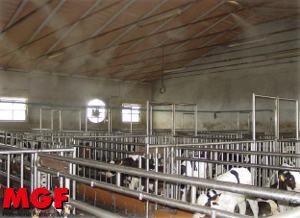 Brumisation dans l'agriculture: refroidissement et humidification
