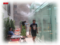 Brumi advantages: comfort hygrothermique obtenu avec la micro brume