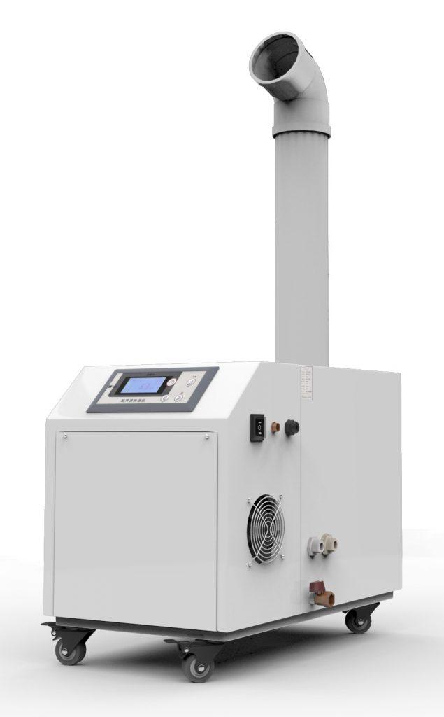 Nebulizzatore per sanificazione Foggy 6000 con tubo estensibile fino a 8m: ideale per impianti di umidificazione centralizzati