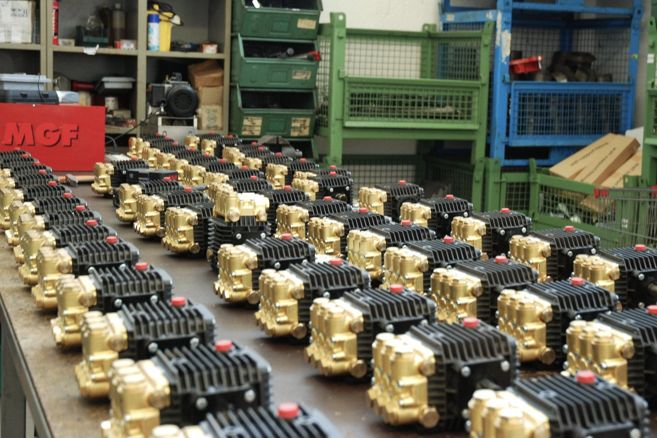 MGF misting pumps assembly line